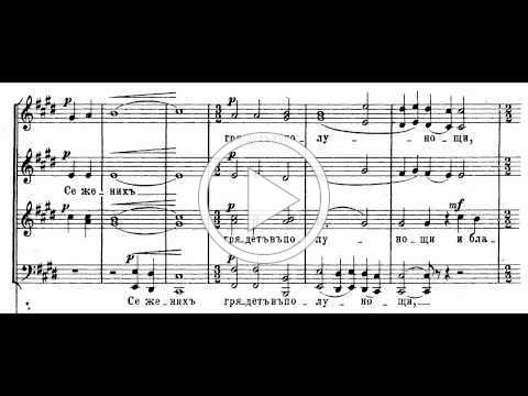 Grechaninov - Passion Week Op. 58-01 Behold, the Bridegroom cometh at midnight