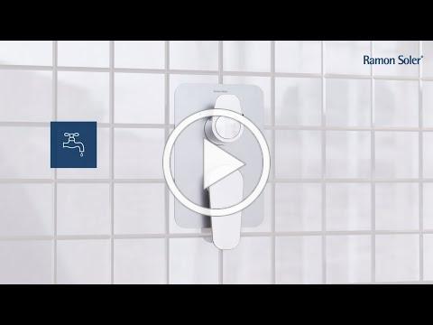 Cómo instalar grifos empotrados monomando - Ramón Soler
