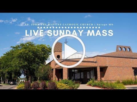 Sunday Mass   April 19   10AM