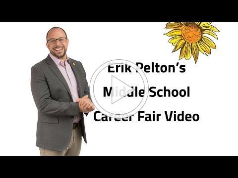 Erik Pelton's Middle School Career Fair Video
