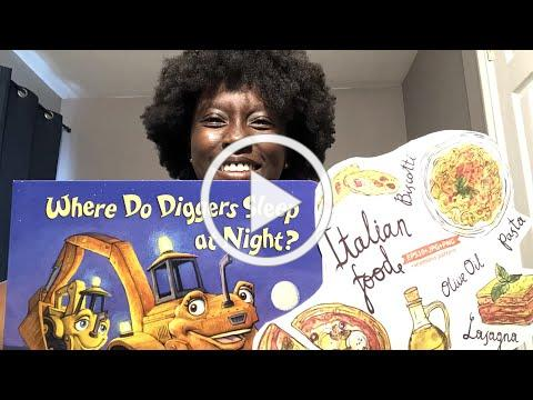 Bedtime with Clio - Where Do Diggers Sleep at Night? By Brianna Caplan Sayres