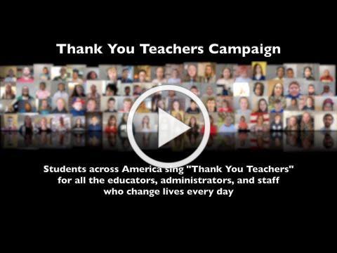 Thank You Teachers Campaign