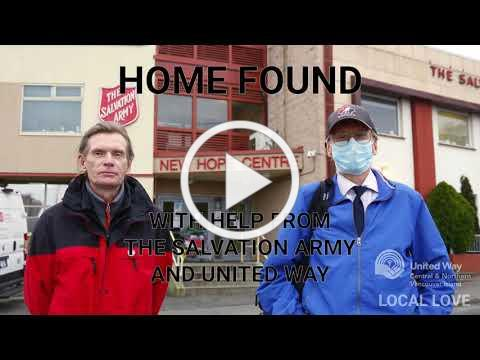 Going from homeless to housed during the pandemic in Nanaimo
