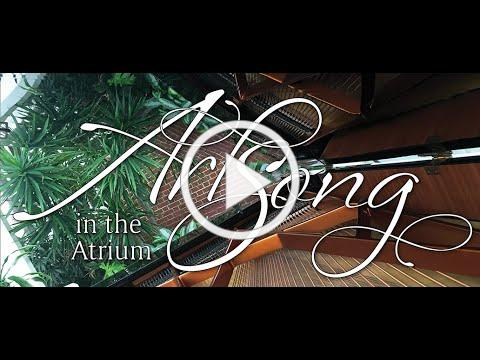 "Mayflower Music - Art Song in the Atrium. Greg Barry sings Fauré's ""Apres un Reve"""
