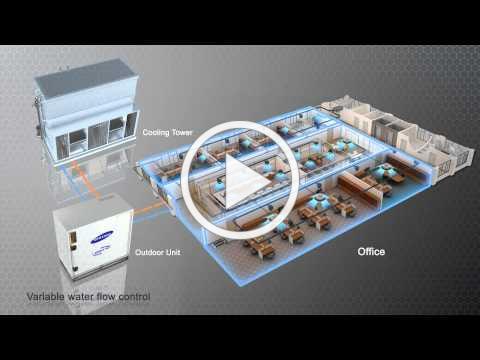 SAMSUNG DVM-S WATER (VRF) ~ Redefining A/C Standards [by ESE]