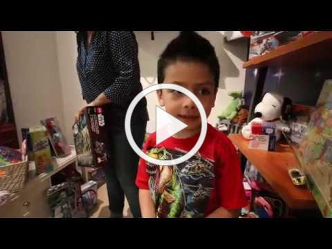 Fozzy's Toy Room Ribbon Cutting