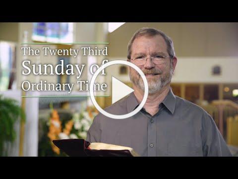 Twenty-third Sunday of Ordinary Time