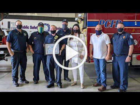 2021 Next Generation Award: Brandy DeMarco, Firefighter/EMT