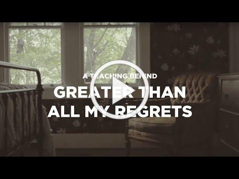 Mike Donehey - Greater Than All My Regrets (Teaching Video)