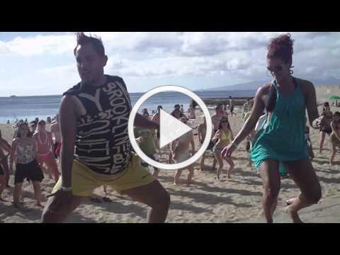ZEKE Fabulosa & JORJET Workshop at the San Souci Beach