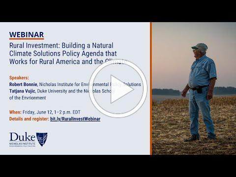 Rural Investment in Natural Climate Solutions