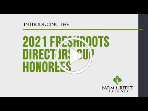 2021 FreshRoots Directors Cup Honoree Announcement