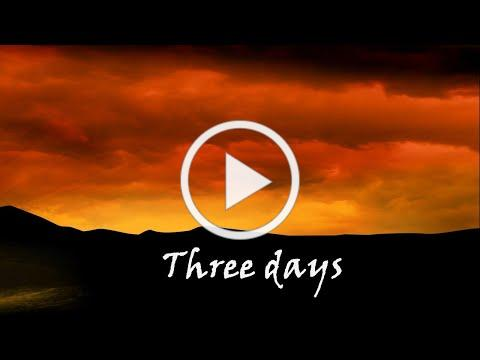 Resurrection Day Service - Three Days