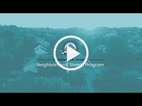 Neighborhood Streets Program   Land Use & Transportation