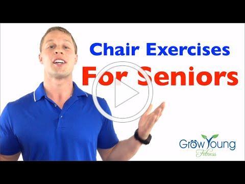 Chair Exercises for Seniors - Senior Fitness - Exercises for the Elderly
