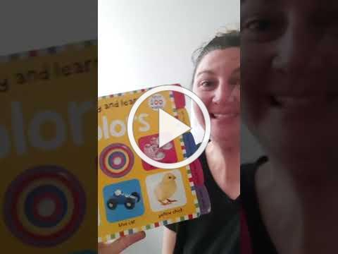 Story Time IG Live with Lisa: Colours!