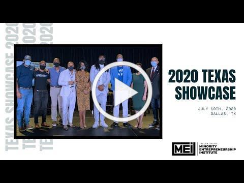 The Minority Entrepreneurship Institute: 2020 Texas Showcase
