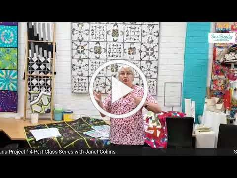 Luna Quilt Ruler Work Project with Janet Collins