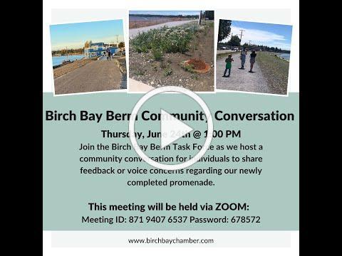 Birch Bay Berm Community Conversation #1