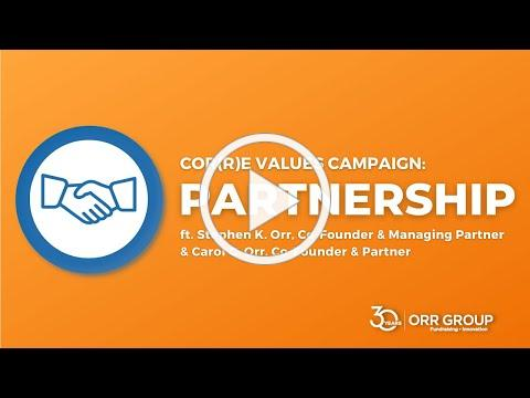 Orr Group's 30th Anniversary Cor(r)e Values: Partnership with Co-Founders Steve and Carol Orr