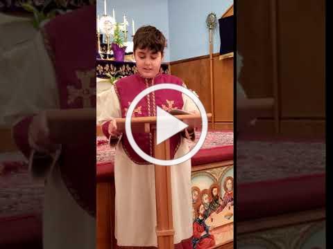 Youth Prayer Whitinsville Armenian - April 16