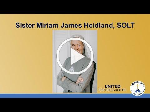 """Transformation from the Heart"" - Sr Miriam James Heidland, SOLT"