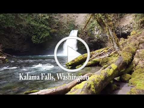 Kalama Falls, Washington State - 2021