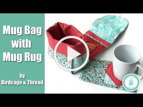 Mug Bag and Mug Rug Tutorial