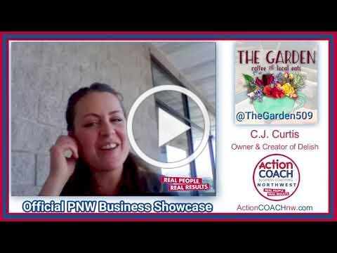 Official PNW Business Showcase w/ C.J. Curtis - The Garden Coffee & Local Eats - Spokane Valley, WA