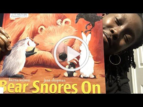 Bedtime with Clio - Bear Snores On by Karma Wilson