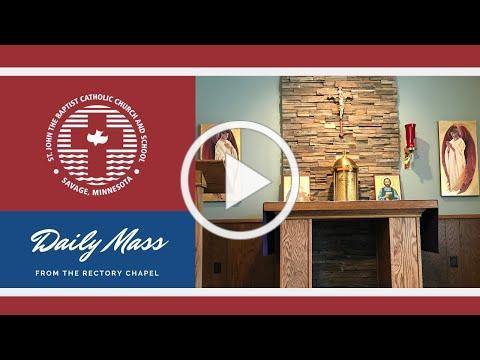 Fr. Ben Little | Mass | March 24 2020