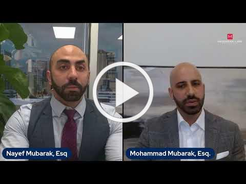 Live with Attorney Mohammad Mubarak