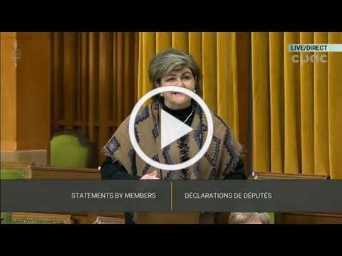 MP Gudie Hutchings speaking on Charlotte Bell in the House of Commons