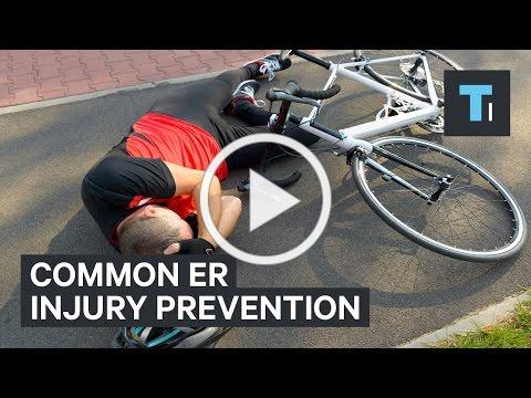 The most frequent injuries ER doctors see and and how to prevent them