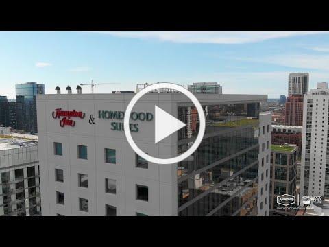 Hampton by Hilton & Homewood Suites by Hilton Chicago Downtown West Loop Virtual Hotel Tour