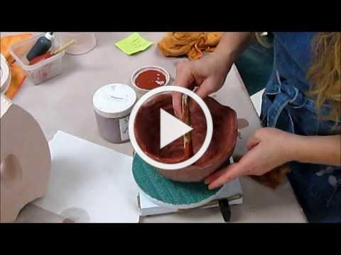 Glaze Application Demonstration for Ceramics I, II, and Wheel Throwing