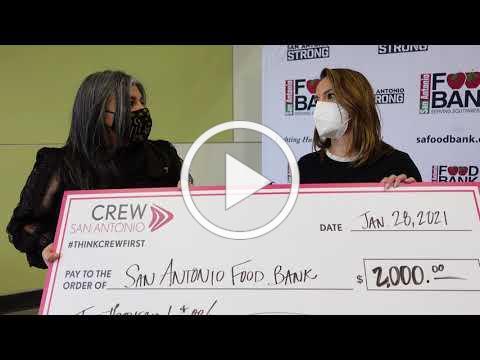 CREWTINI SA Food Bank Donation