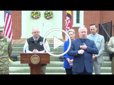 Governor Larry Hogan Livestream