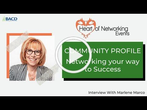 Community Profile - Networking your way to Success