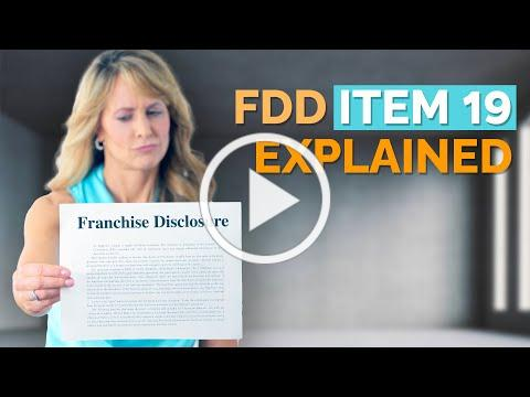 The Truth About FDD Item 19: Franchise Earnings Claims