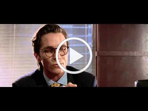 American Psycho - Business Card scene [HD - 720p]