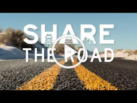 Share The Road Motorcycle 30s