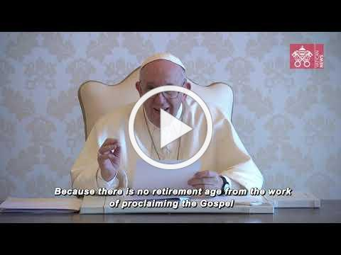 Pope Francis' message for the First World Day for Grandparents and the Elderly