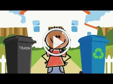 Virtual Classroom - What's the Difference Between Trash and Recycling?