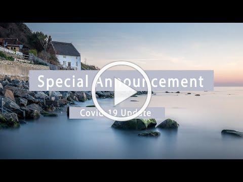 Special Announcement: Covid-19 Protocols
