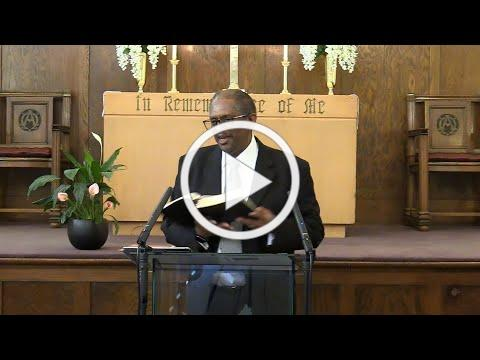 """Sermon: """"Fixed and Focused"""" (Acts 3:1-6)"""
