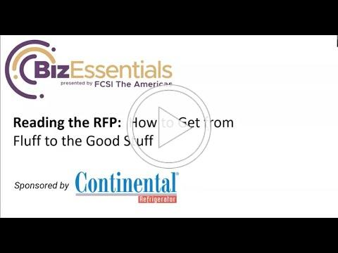 Biz Essentials: Reading the RFP: How to Get from the Fluff to the Good Stuff