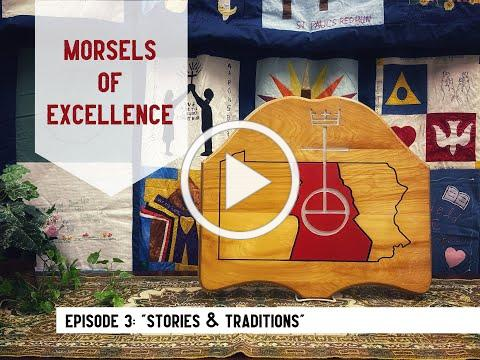"""Morsels of Excellence 2021 - Healthy Church Ep. 3 - """"Stories & Traditions"""""""
