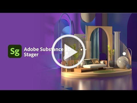 Start Adobe Substance 3D Stager