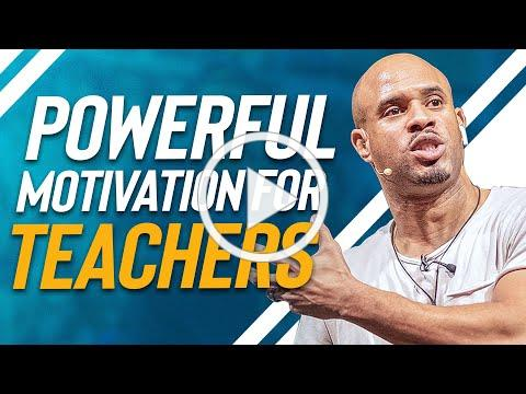 TOP Motivational Video for TEACHERS | Professional Development | Jeremy Anderson